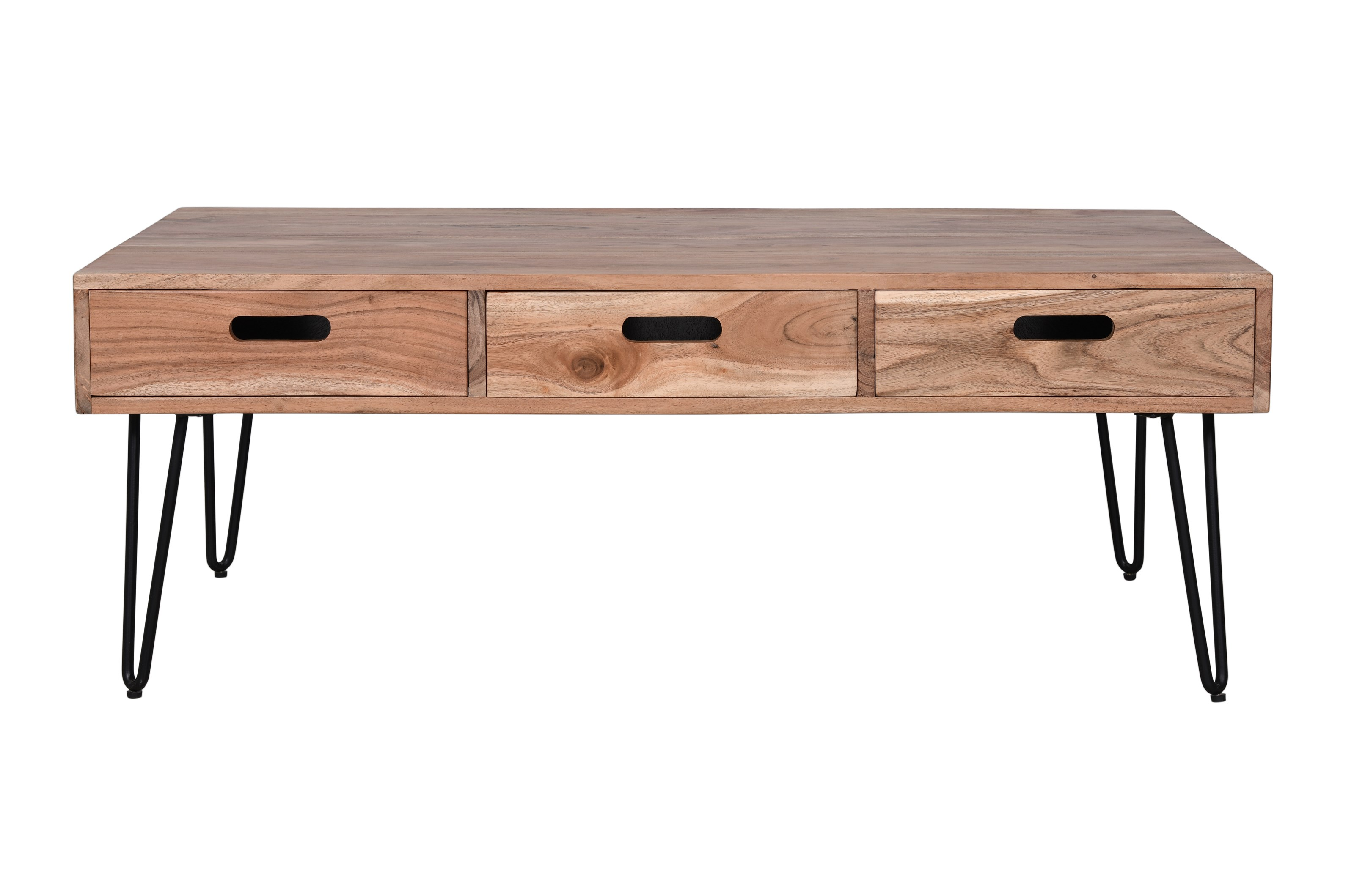 Rollins 3 Drawer Coffee Table by Jofran at Jofran
