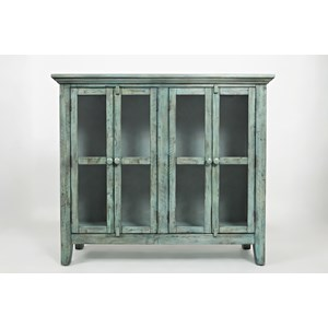 "Jofran Rustic Shores Surfside 48"" Accent Cabinet"
