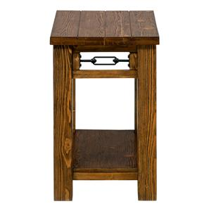 Jofran San Marcos Rectangle Chairside Table