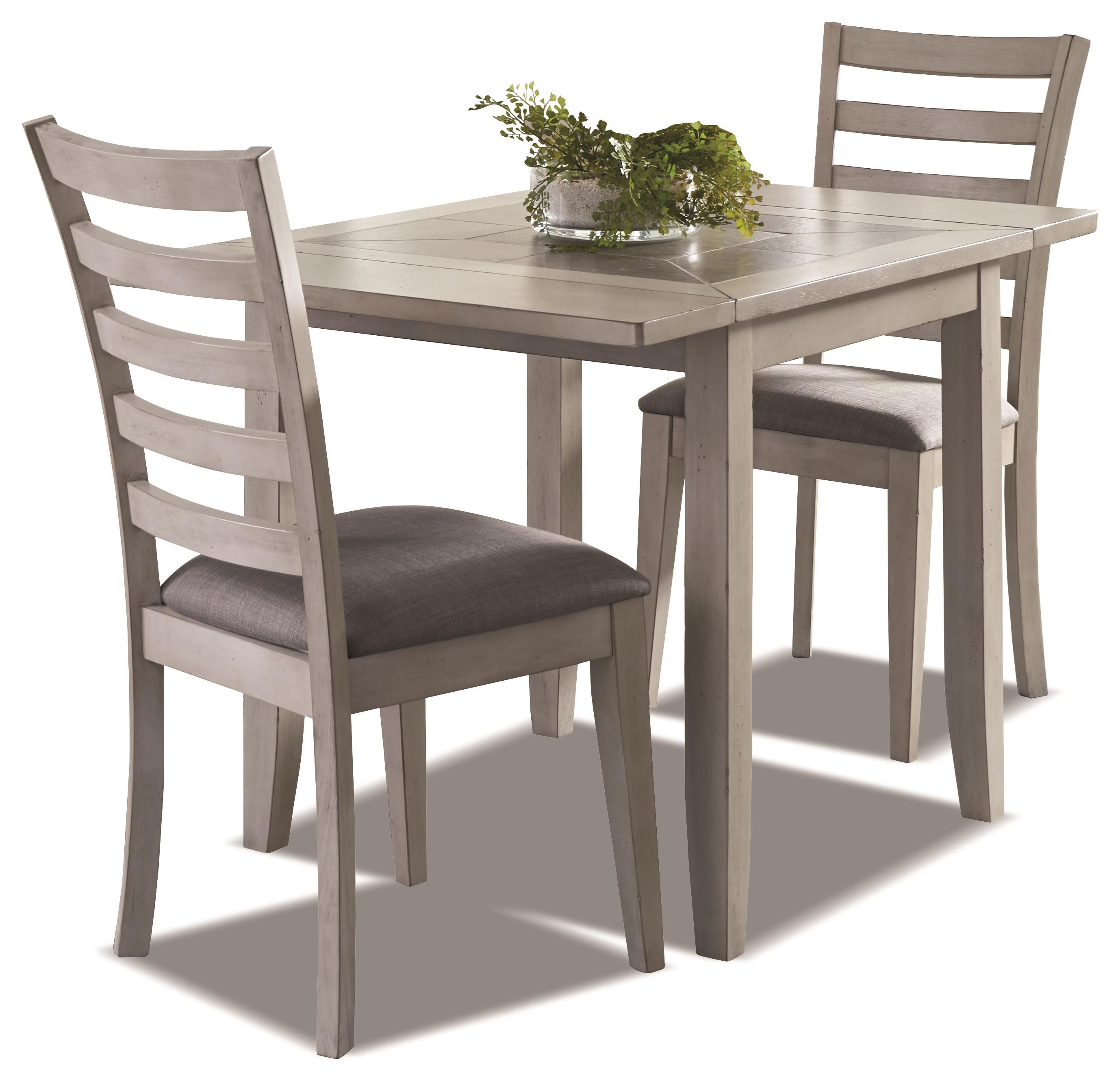Jofran Stoneridge 3 Piece Dining Set Includes Table And 2 Chairs Morris Home Dining 3 Piece Sets