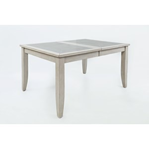 Morris Home Furnishings Stoneridge Stoneridge Tiled Extension Dining Table
