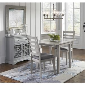 Jofran Sarasota Springs 3 Piece Table Chair Set