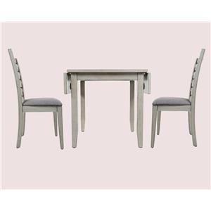 Jofran Sarasota Springs 3-Piece Table & Chair Set