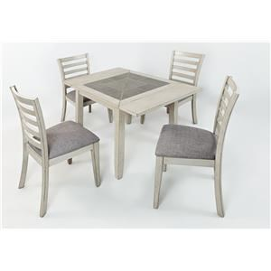 Morris Home Furnishings Sarasota Springs Stoneridge 5-Piece Dining Set