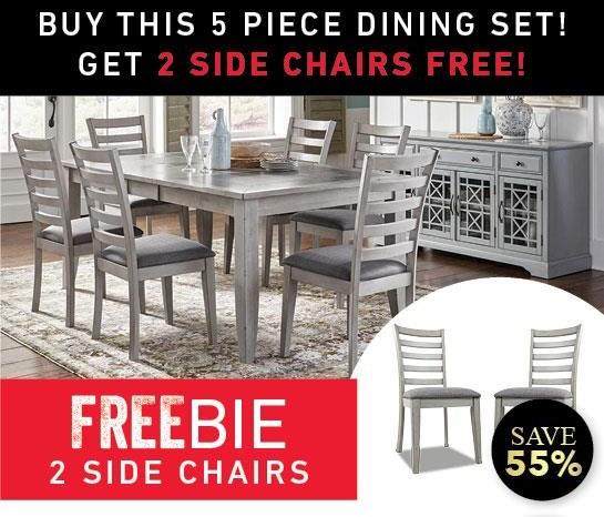 Stoneridge 5-Piece Dining Set