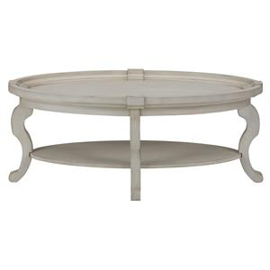 Belfort Essentials Sebastian Oval Cocktail Table