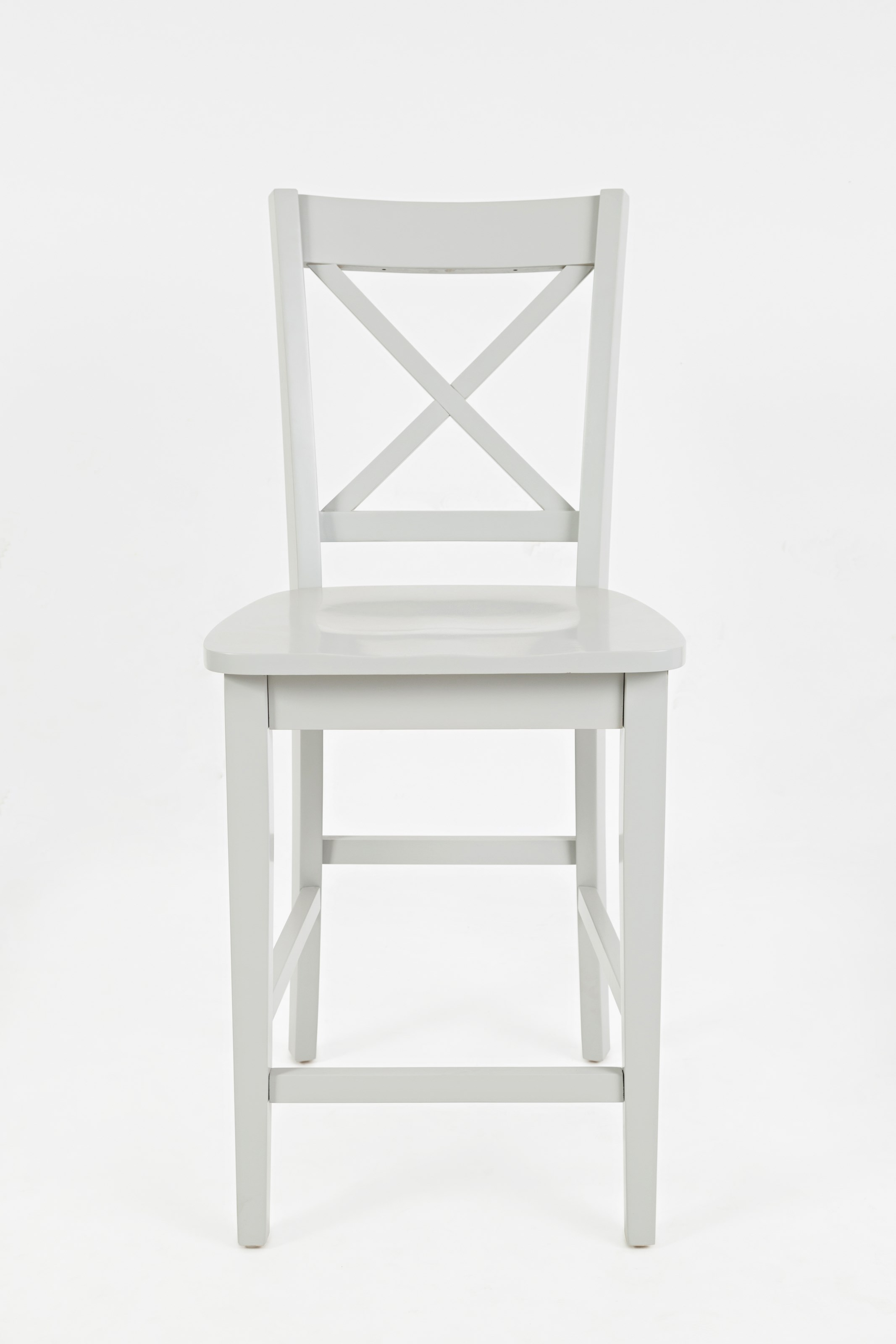 Jofran Simplicity X Back Stool Counter Height Stoney