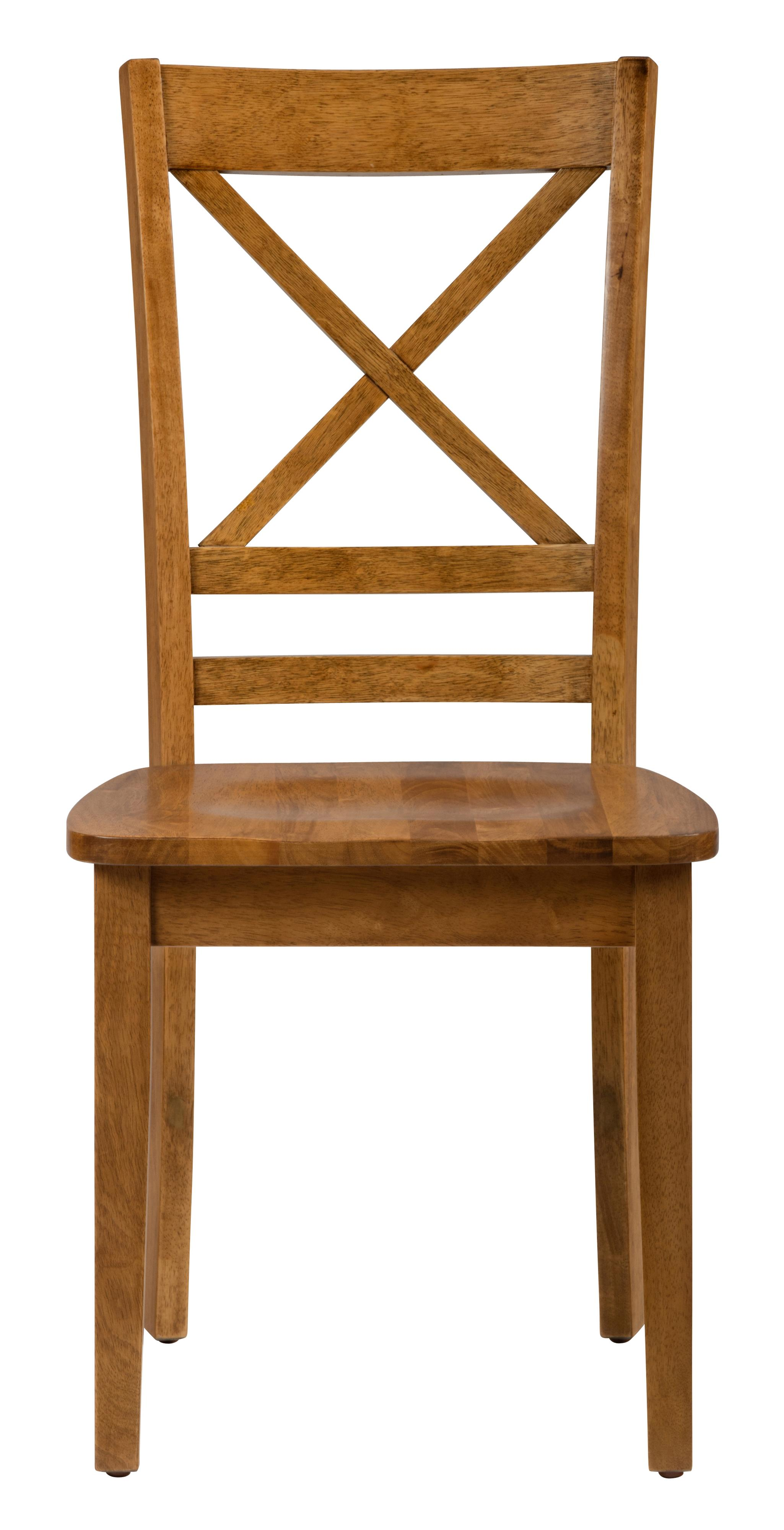 "Jofran Simplicity ""X"" Back Side Chair - Item Number: 352-806KD"