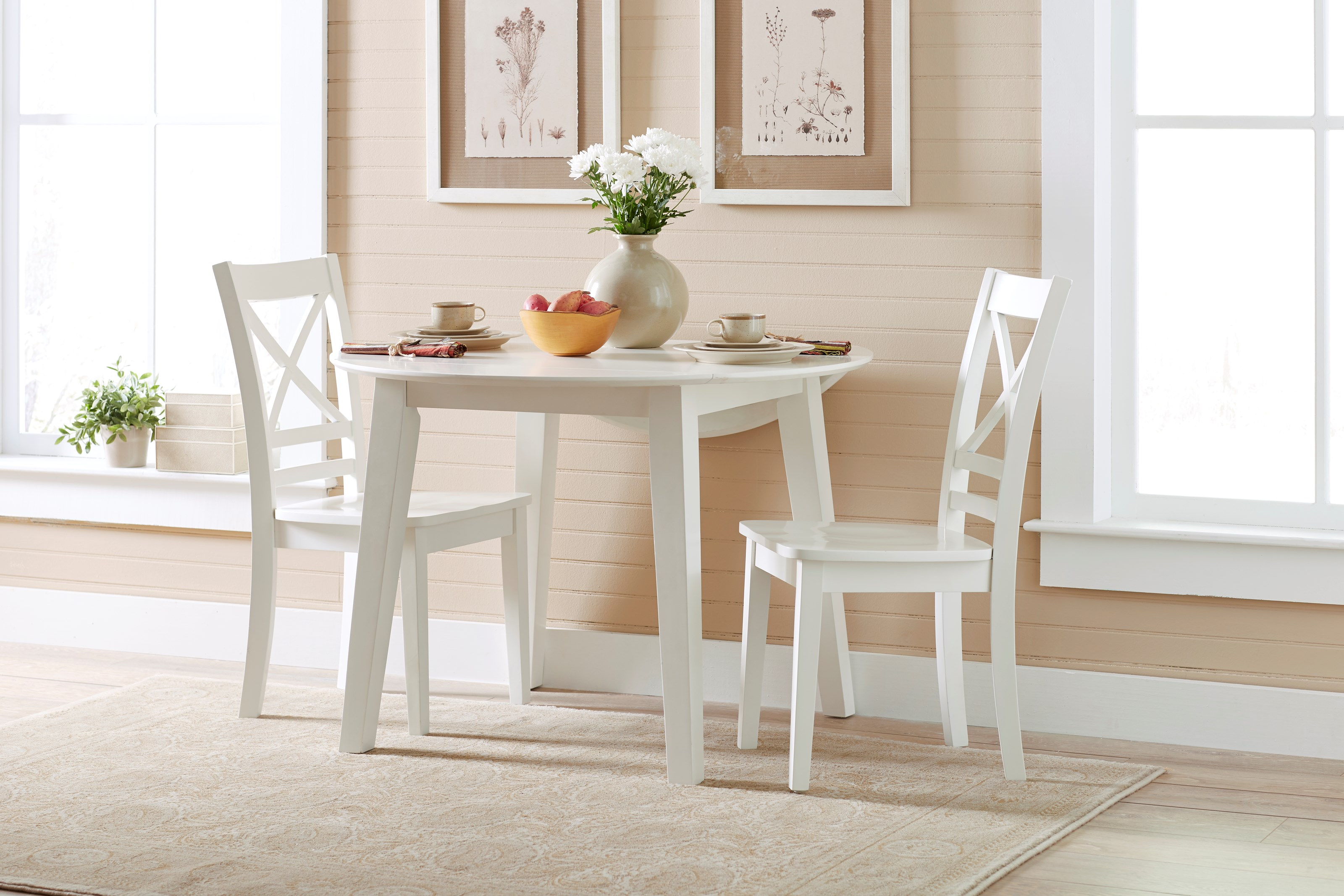 kitchen furniture small spaces jofran simplicity table and 2 chair set with quot x 19607