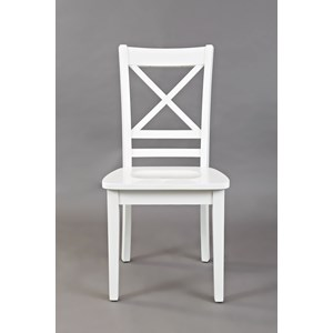"""X"" Back Side Chair"