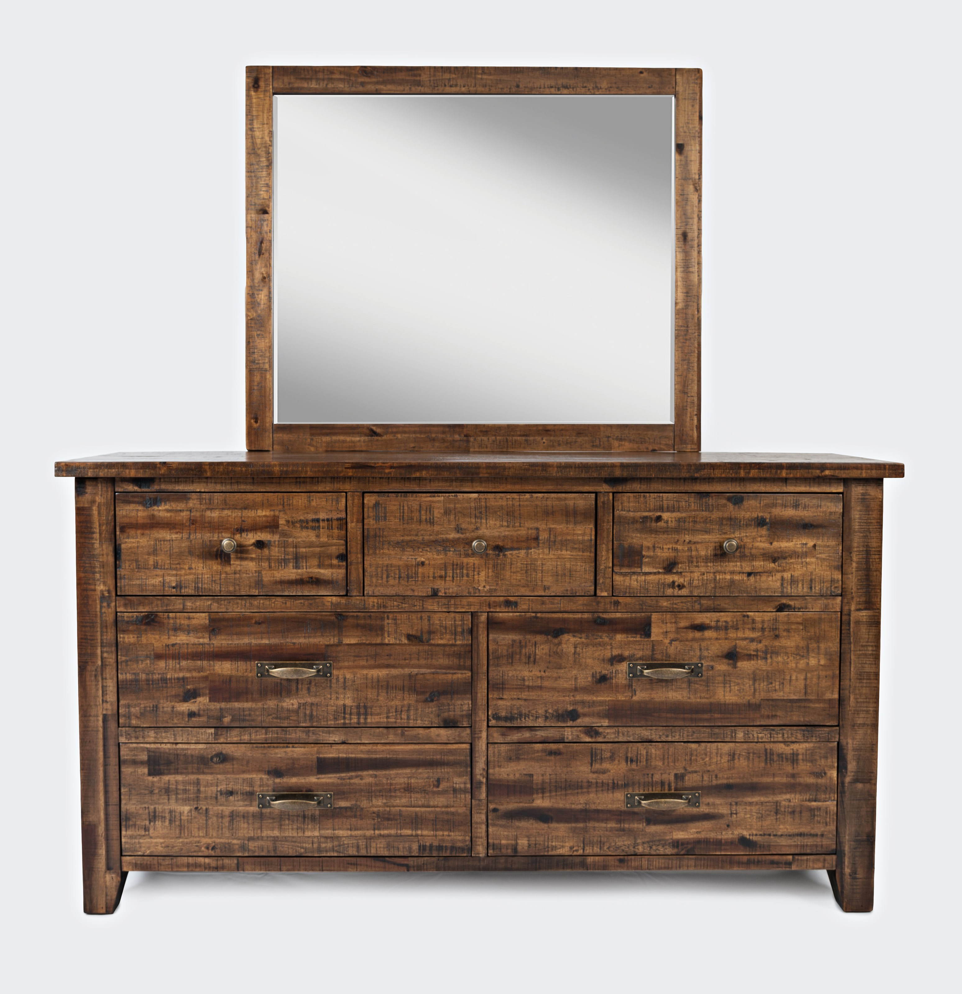 Master Dresser and Mirror Set