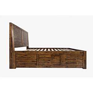 Jofran Sonoma Creek King Size Storage Bed