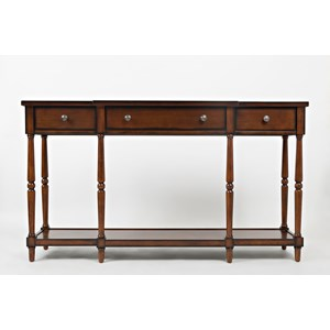 "Morris Home Furnishings Stately Home Statenville 60"" Console"