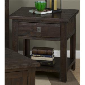 Morris Home Furnishings Stockport Stockport End Table