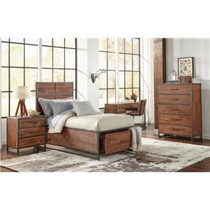 Morris Home Furnishings Sylvan Sylvan Twin Storage Bed