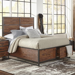 Morris Home Furnishings Sylvan Sylvan Full Size Storage Bed
