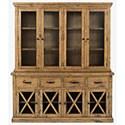 Jofran Telluride  China Cabinet - Item Number: 1801-70-71