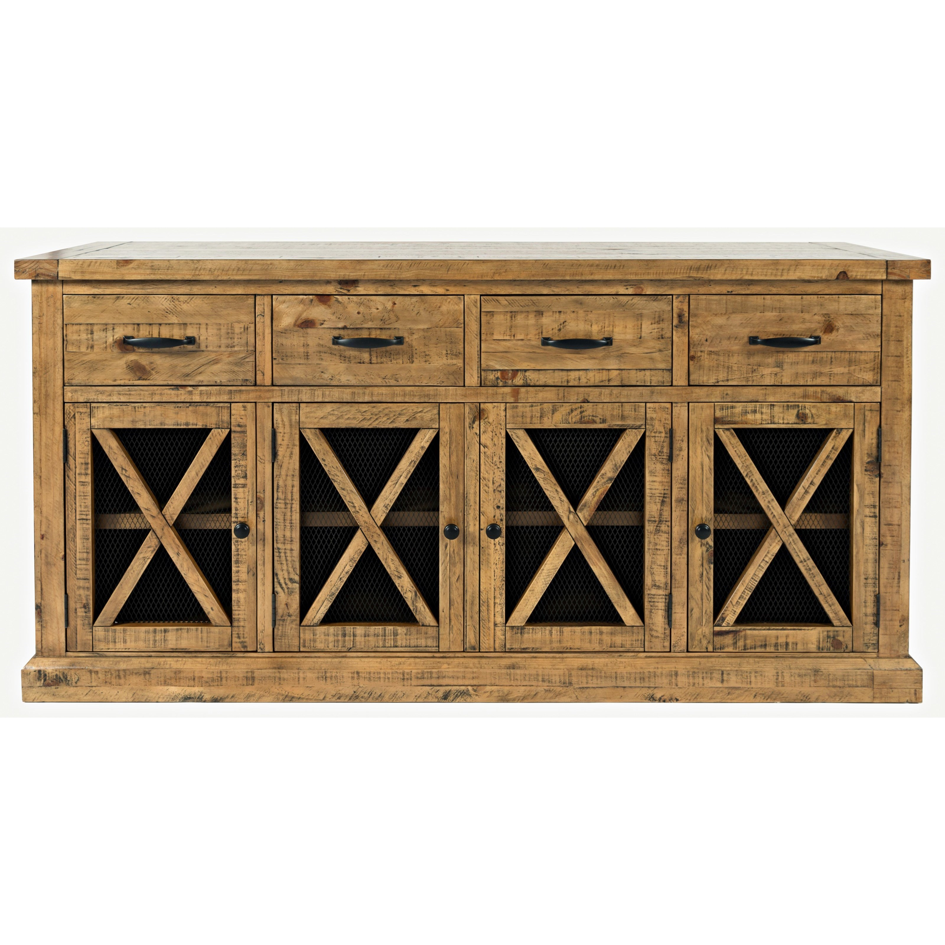 Telluride  4 Drawer Sideboard by Jofran at Beck's Furniture