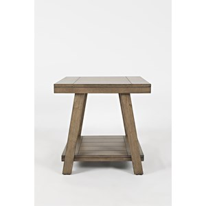 Jofran Transitions End Table