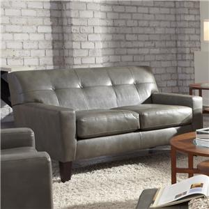 Morris Home Furnishings Treynor Contemporary Loveseat