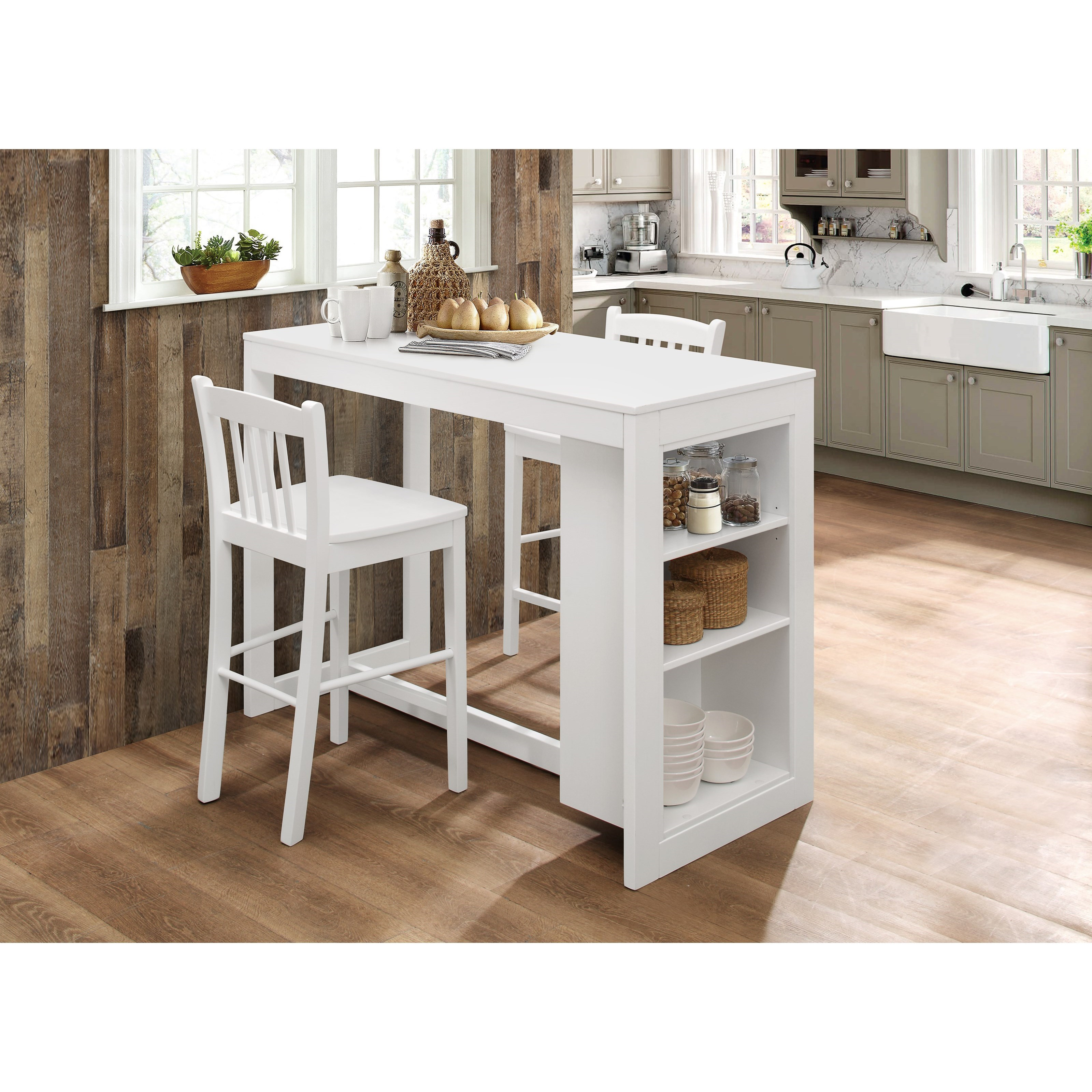 Counter Height Table with 2 Chairs