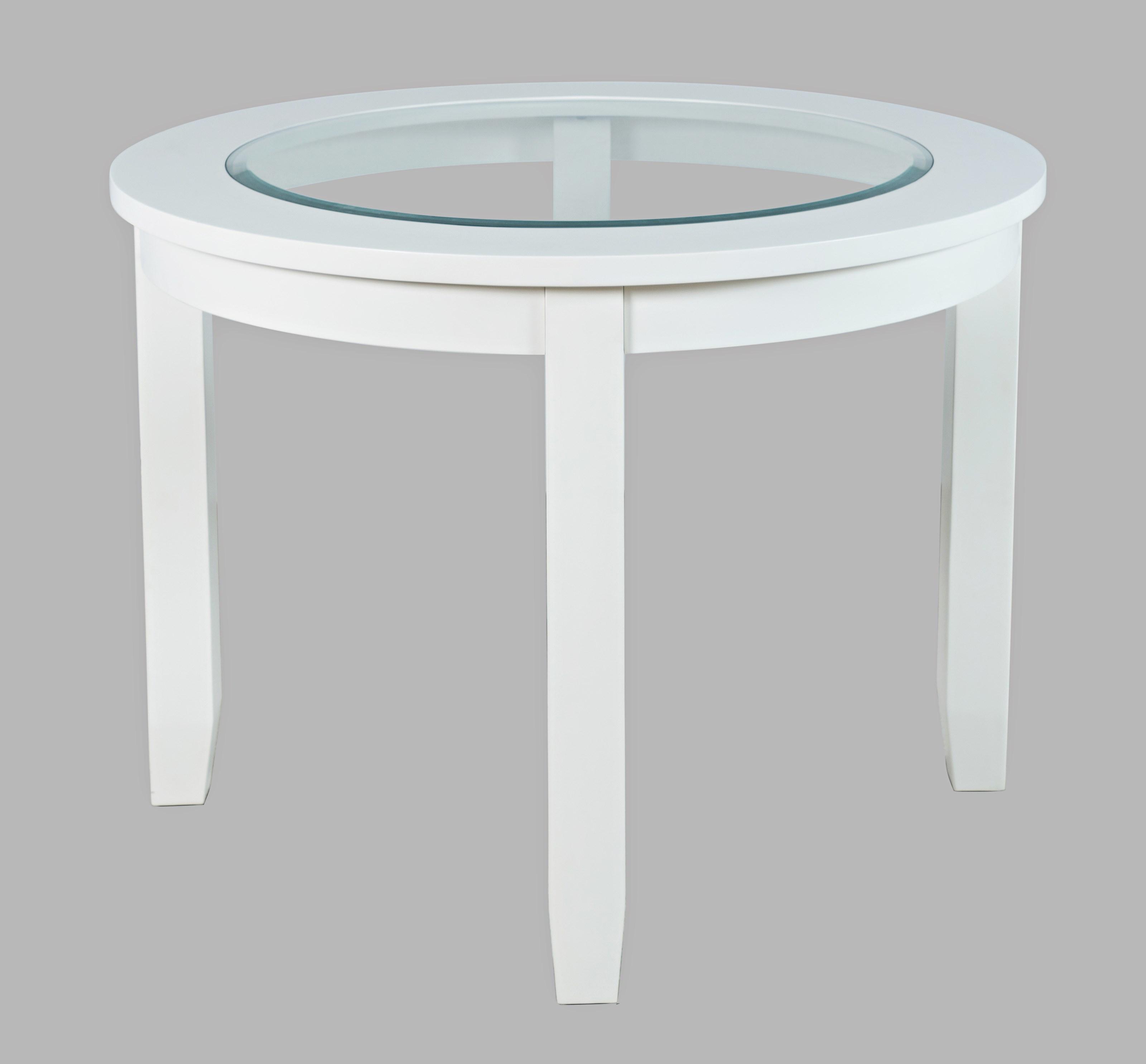 "Urban Icon 42"" Round Dining Table by Jofran at Jofran"