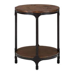 Jofran Urban Nature Round Chairside Table