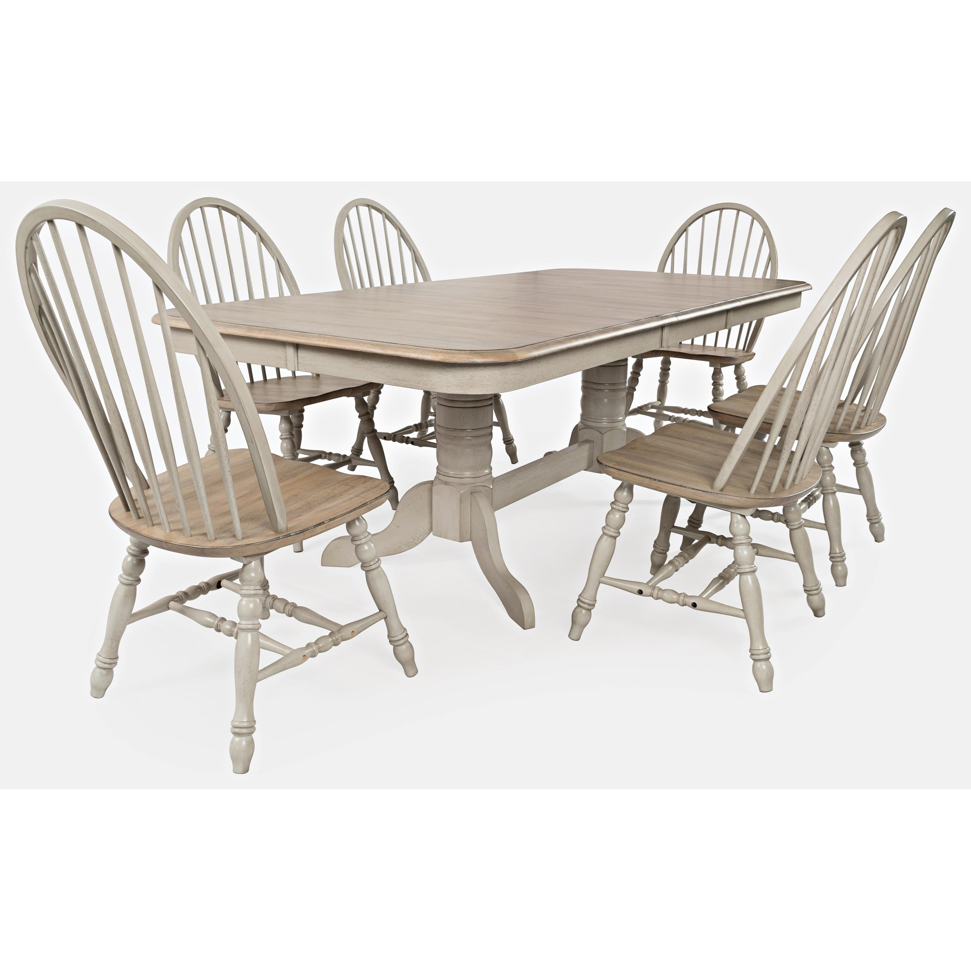 Westport 7-Piece Dining Table and Chair Set by Jofran at Jofran