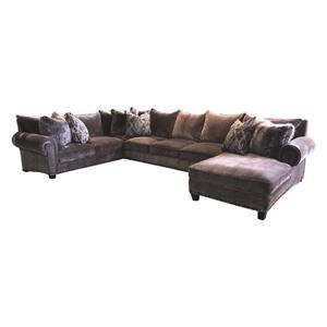 Delicieux John Michael Designs 9000 3 PC Down Sectional | Reeds Furniture | Sectional  Sofas