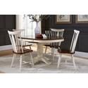 John Thomas Bridgeport Table and Chair Set - Item Number: T63-242XBT+242XB+4xC63-55