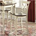 John Thomas Camden Cathedral Bar Stool - Item Number: S90-432