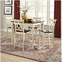 John Thomas Camden Two-Toned Square High Dining Table