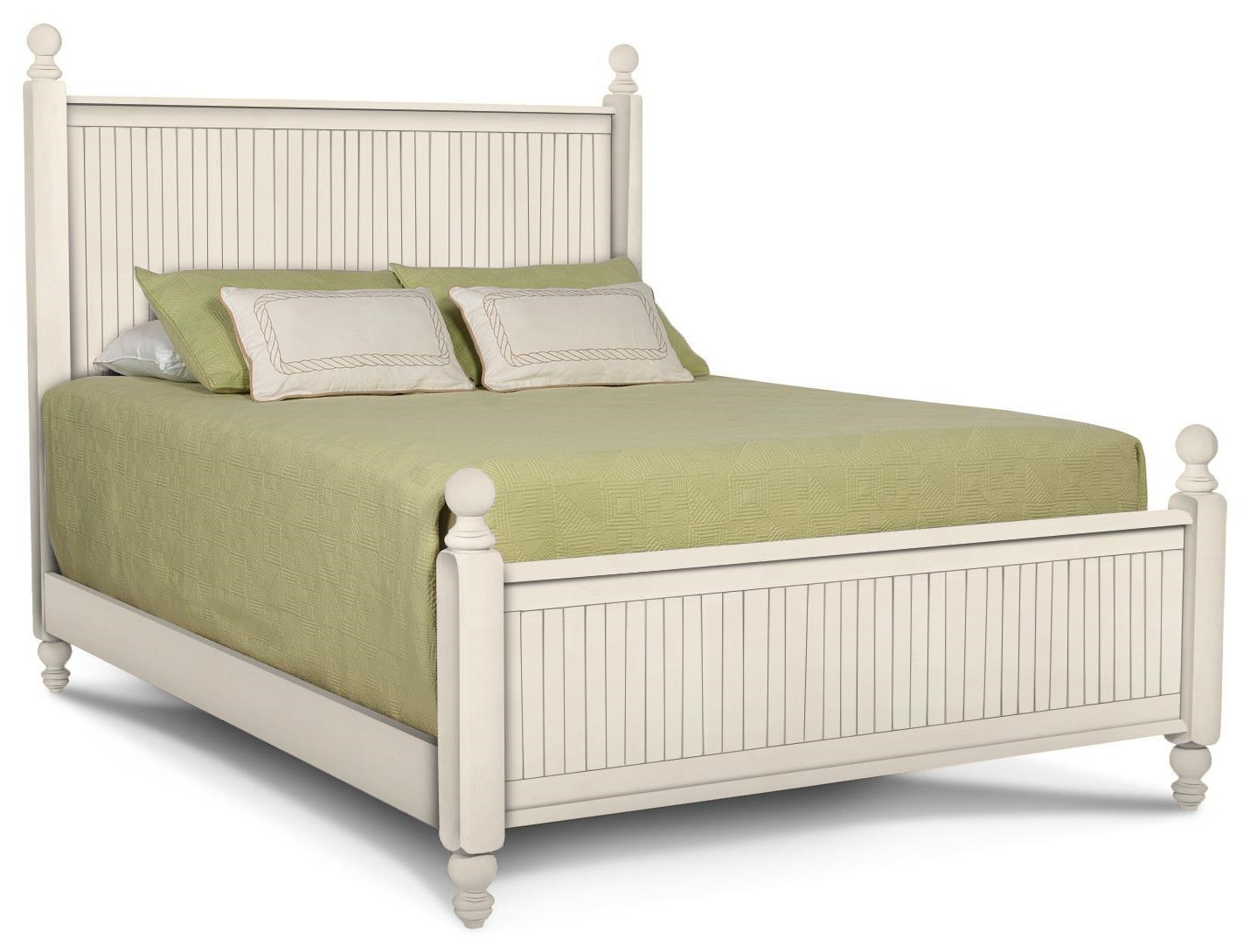 Cottage Bedroom Queen Bed by John Thomas at Johnny Janosik