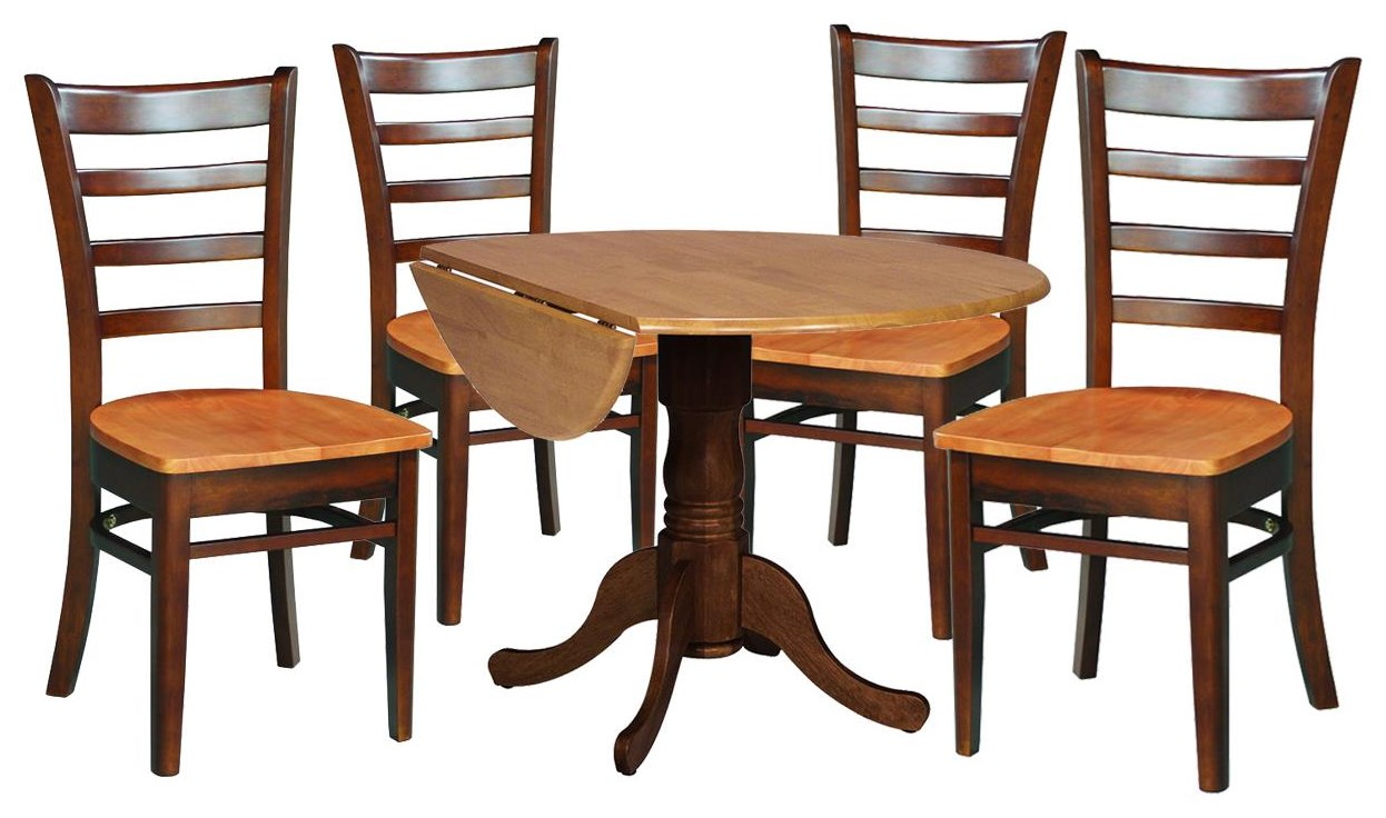 Dining Essentials Table and 4 Chairs by John Thomas at Johnny Janosik