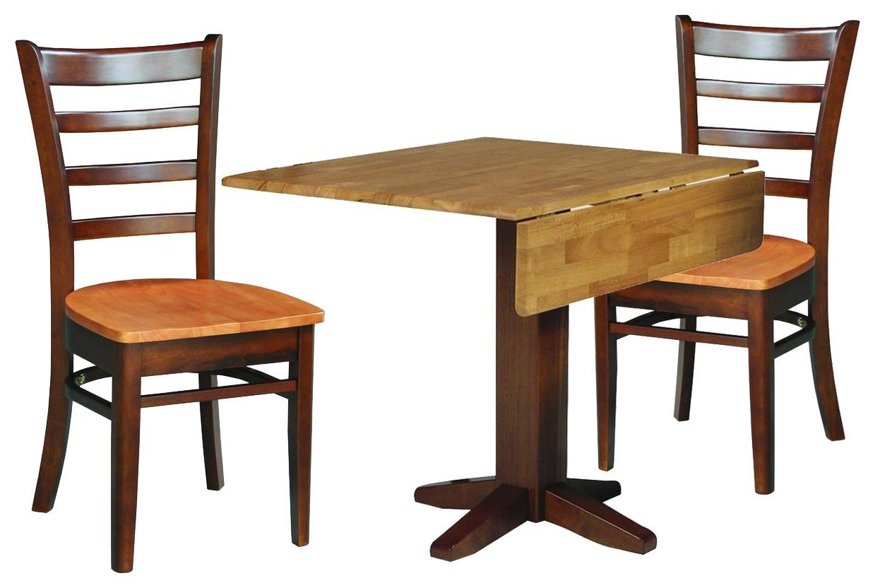 Dining Essentials Table and 2 Chairs by John Thomas at Johnny Janosik