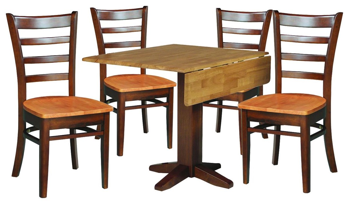 Dining Essentials Dining Table and 4 Chairs by John Thomas at Johnny Janosik