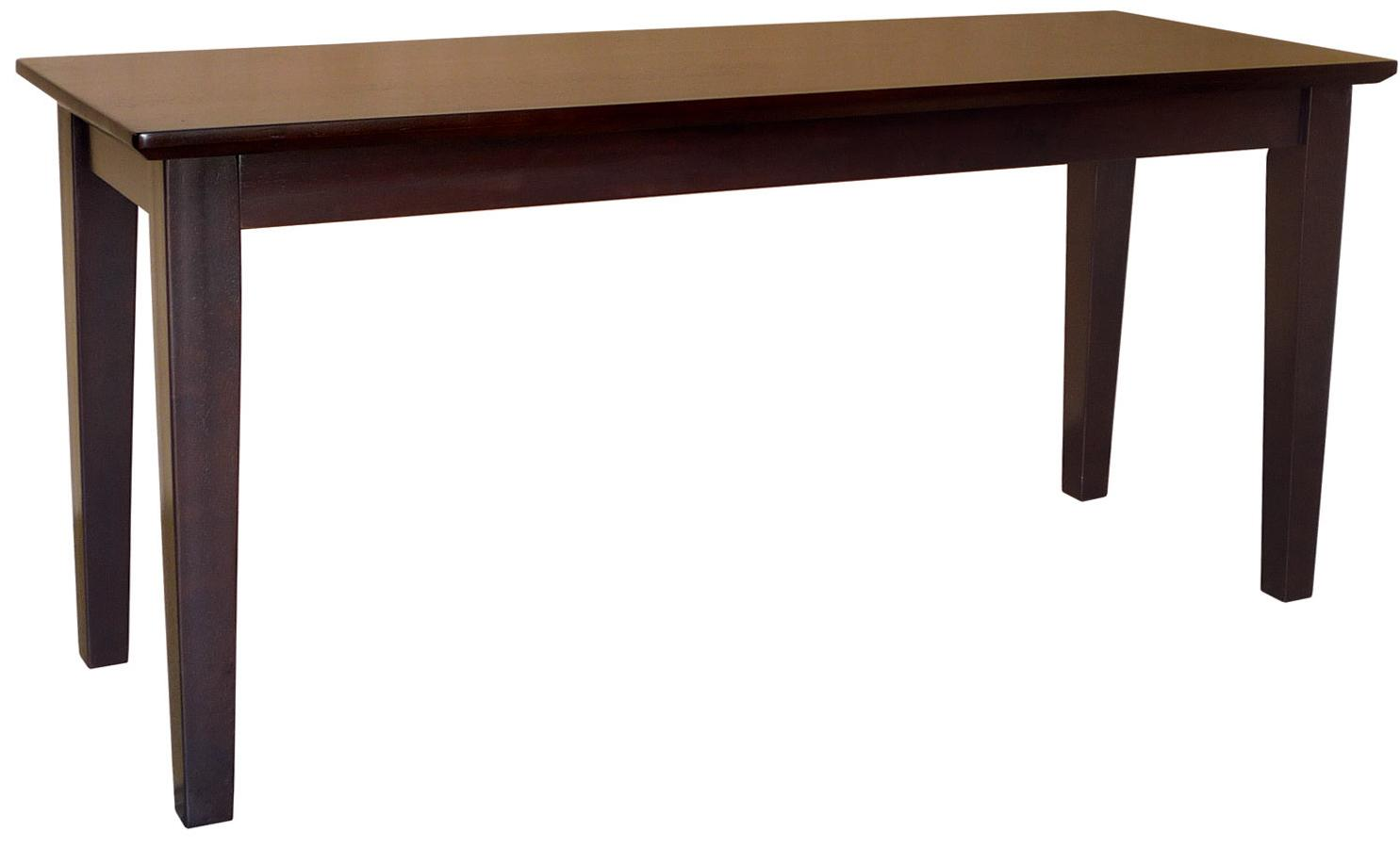 John Thomas Dining Essentials Contemporary Dining Bench - Item Number: BE15-39