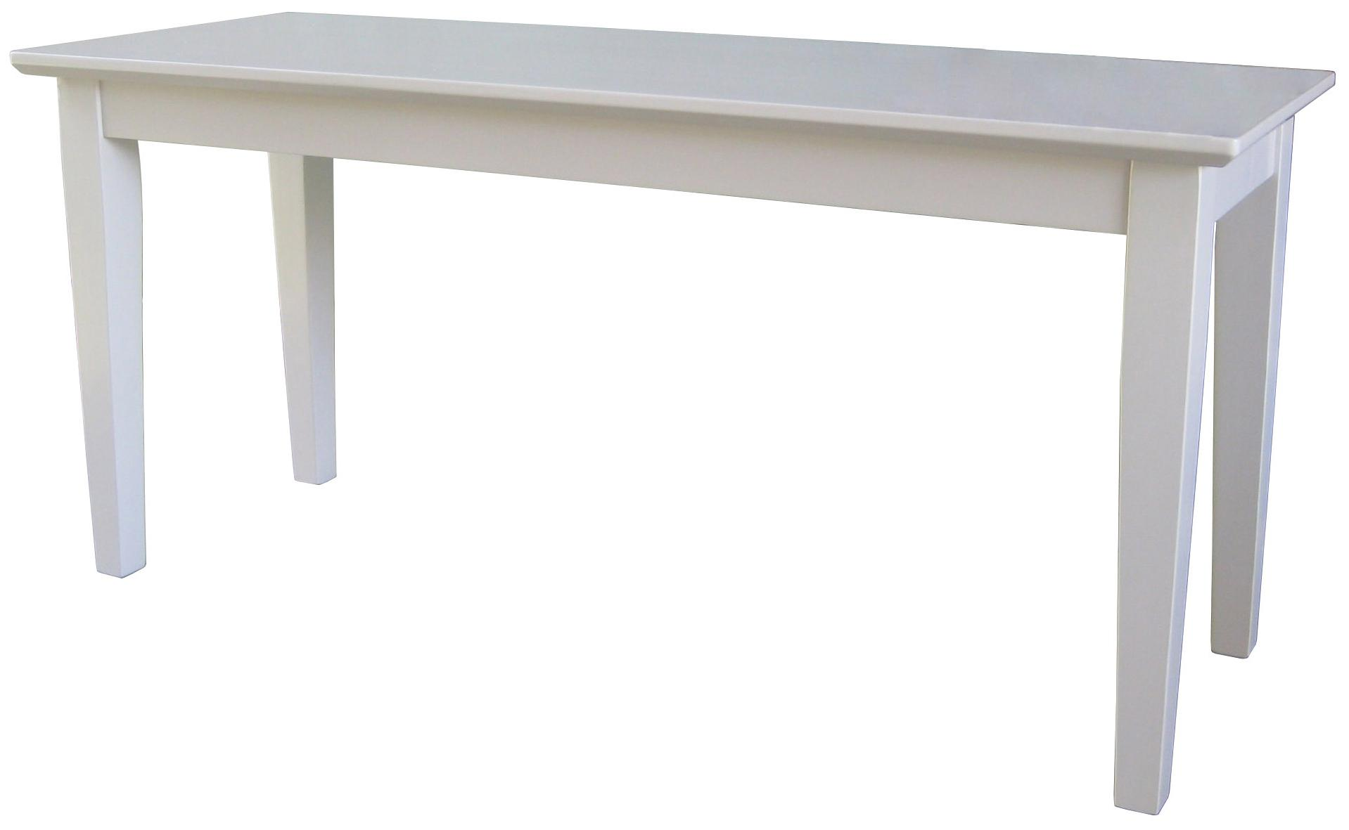 John Thomas Dining Essentials Contemporary Dining Bench - Item Number: BE31-39