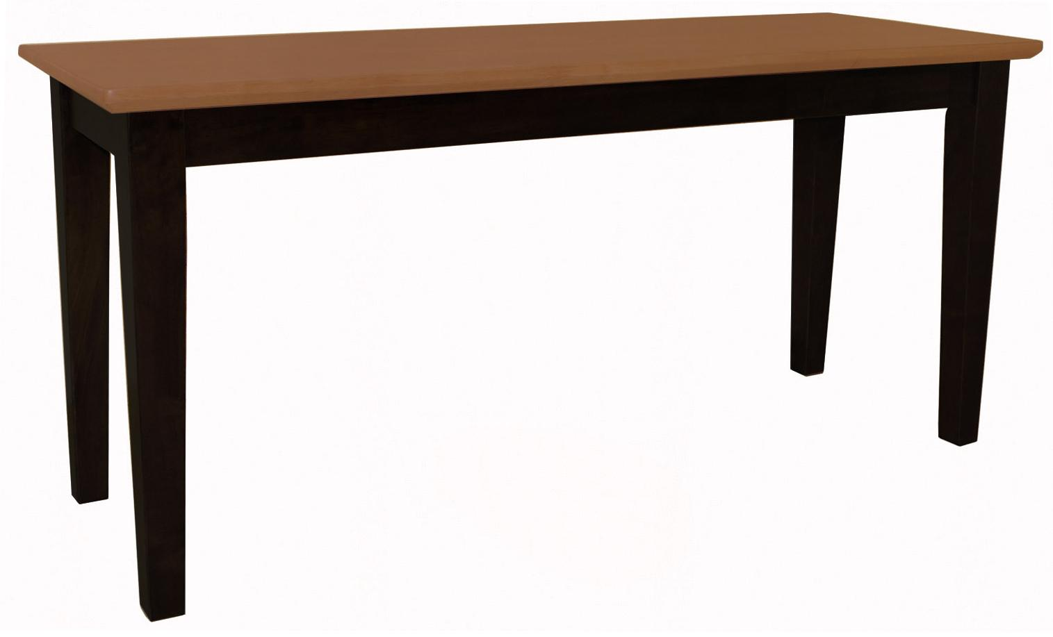 John thomas dining essentials contemporary dining bench for Dining room essentials
