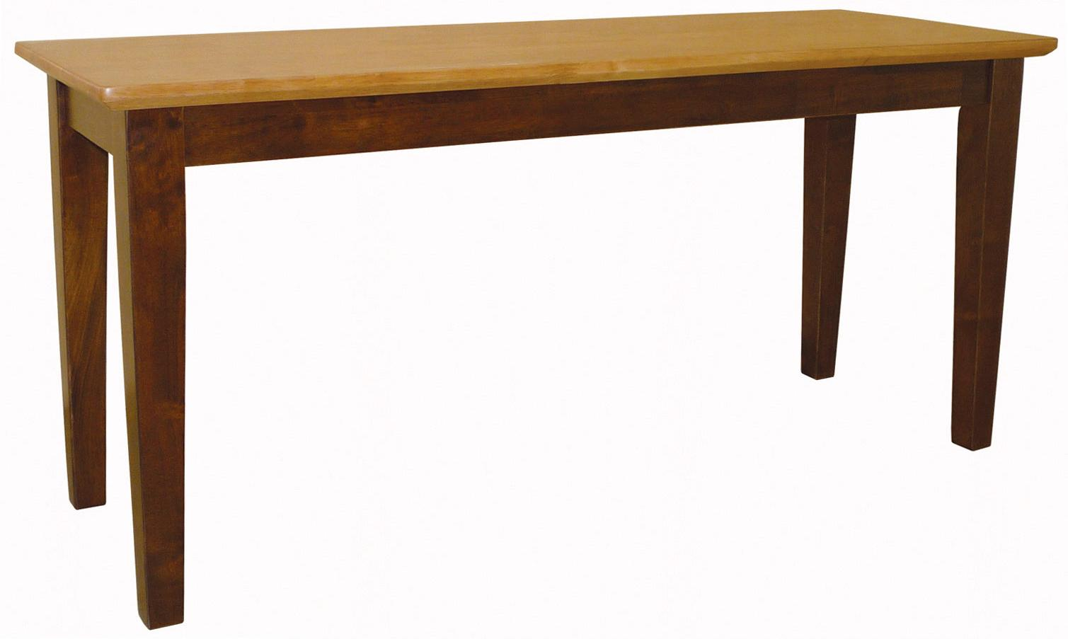 John Thomas Dining Essentials Contemporary Dining Bench - Item Number: BE58-39