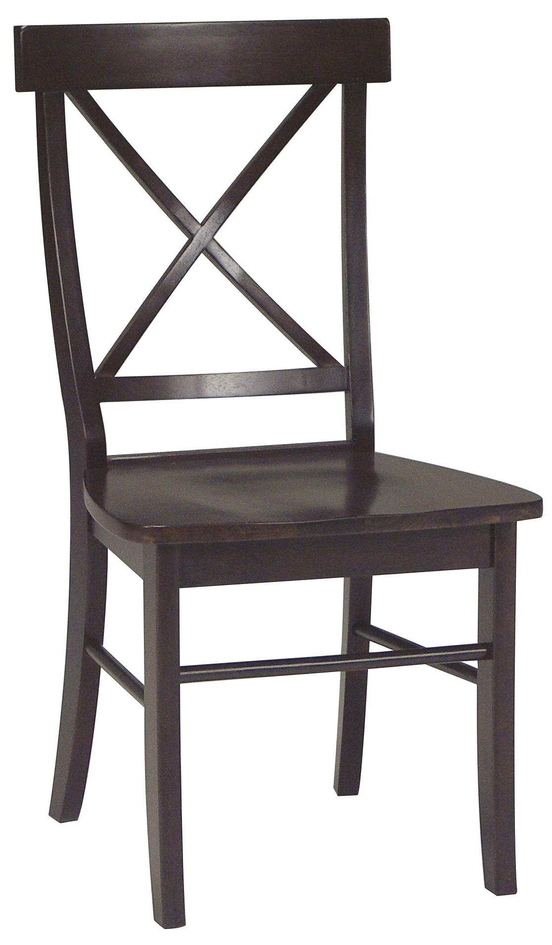 John Thomas Dining Essentials X-Back Side Chair - Item Number: C15-613