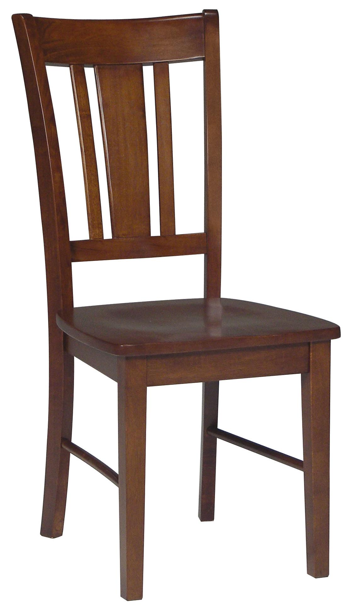 John Thomas Dining Essentials Splat Back Side Chair - Item Number: C48-10
