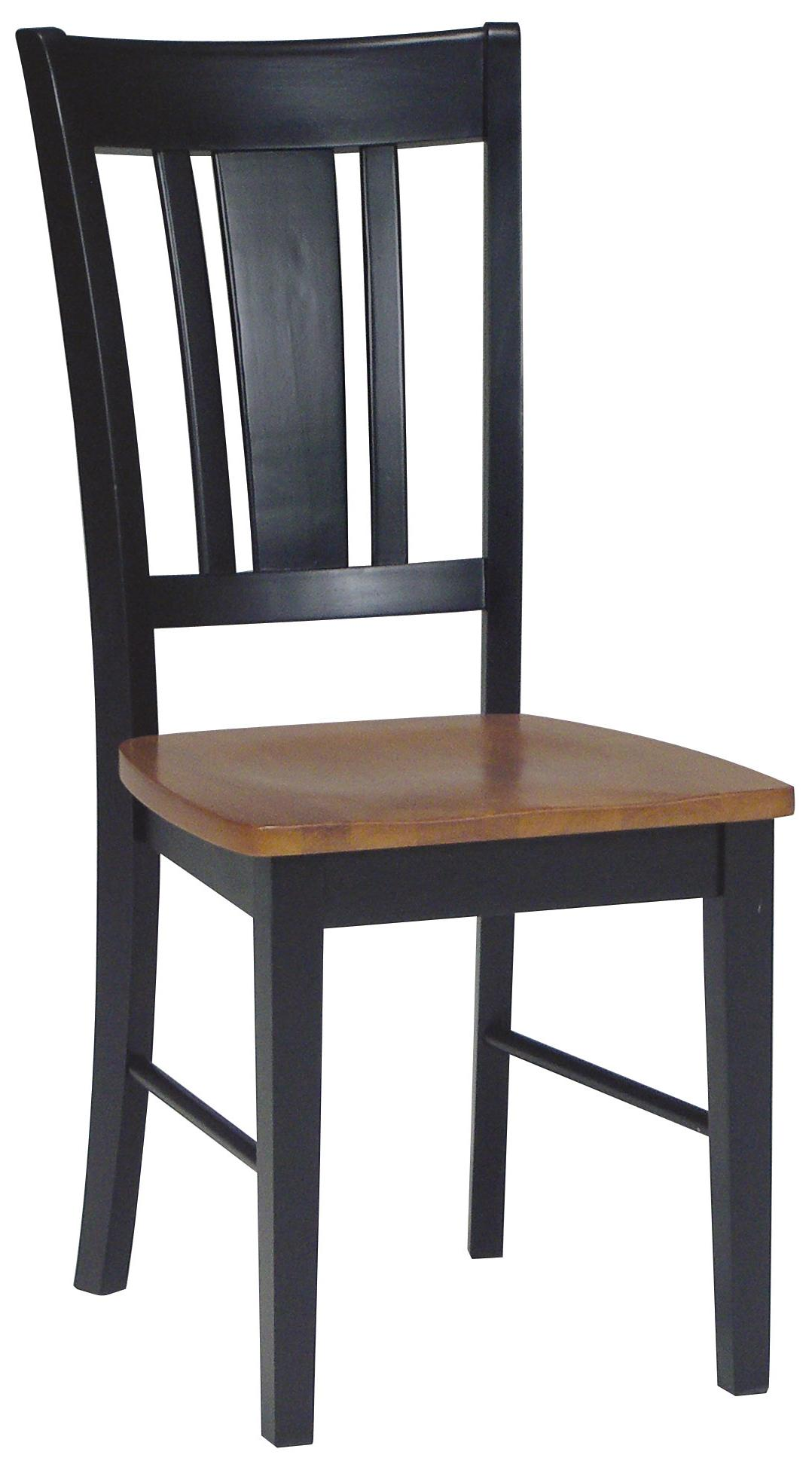 John Thomas Dining Essentials Splat Back Side Chair - Item Number: C57-10