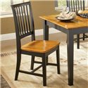 John Thomas Dining Essentials Slat Back Side Chair - Item Number: C57-265