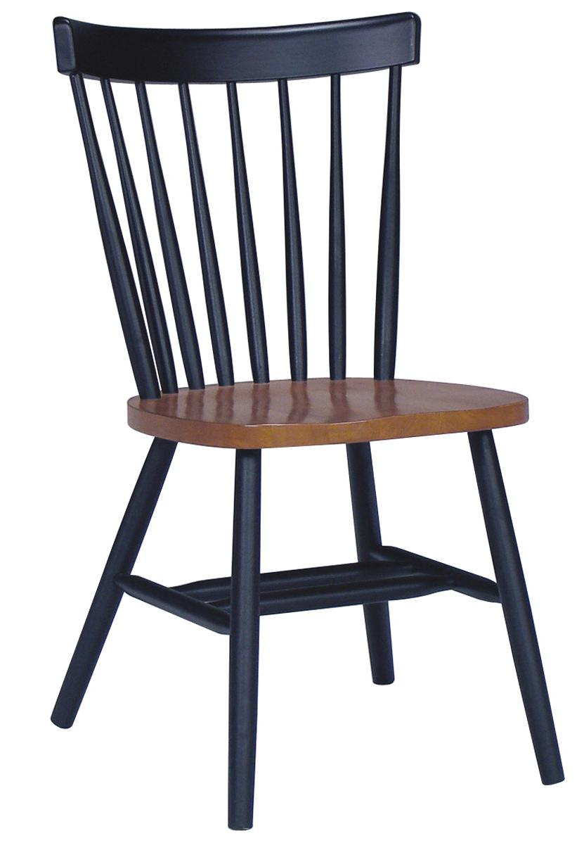 John Thomas Dining Essentials Spindleback Side Chair - Item Number: C57-285