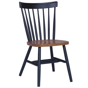John Thomas Dining Essentials Spindleback Side Chair