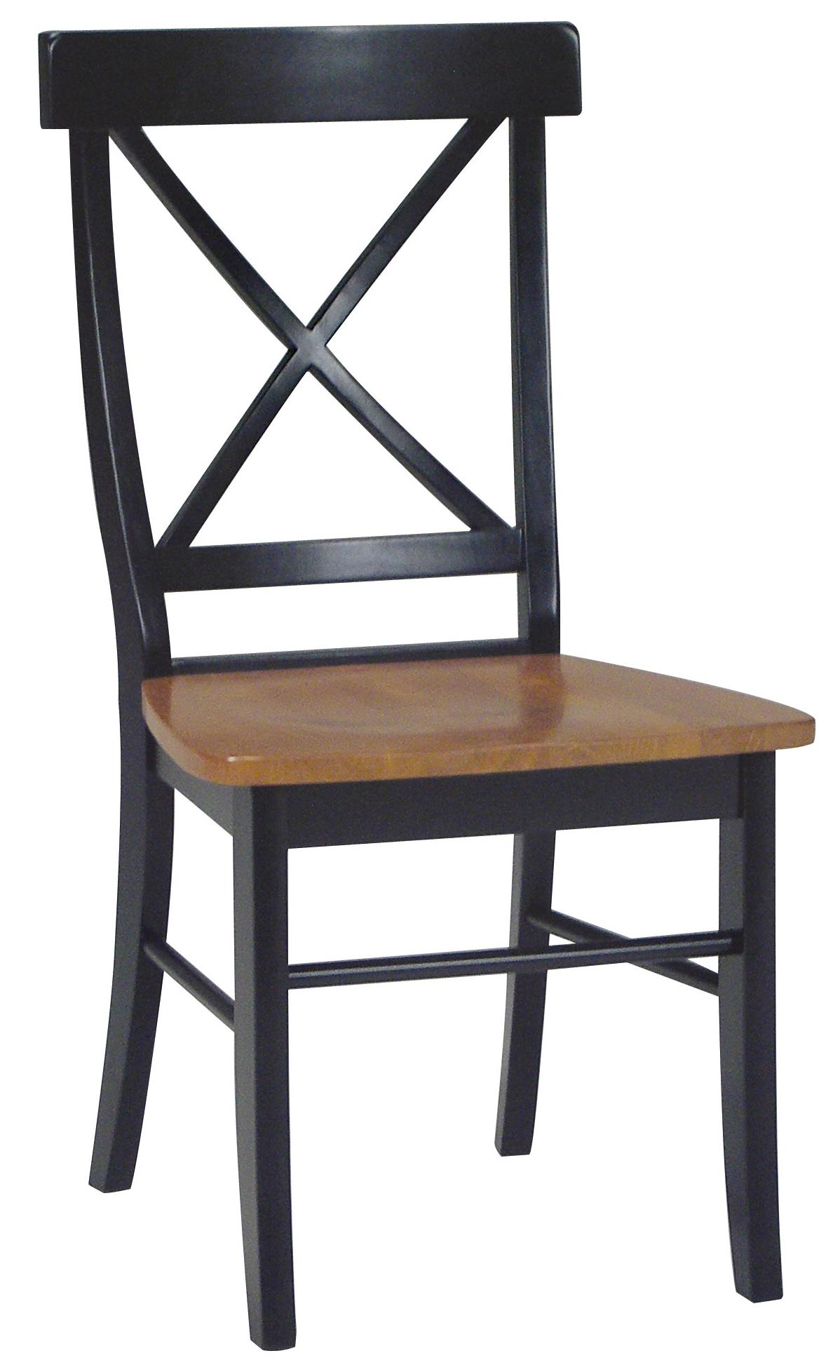 John Thomas Dining Essentials X-Back Side Chair - Item Number: C57-613