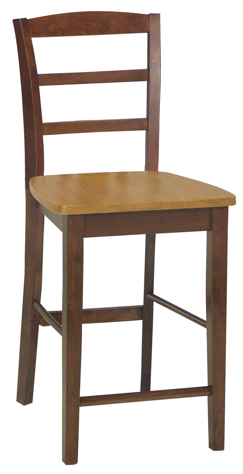 John Thomas Dining Essentials Ladderback Bar Chair - Item Number: S58-402