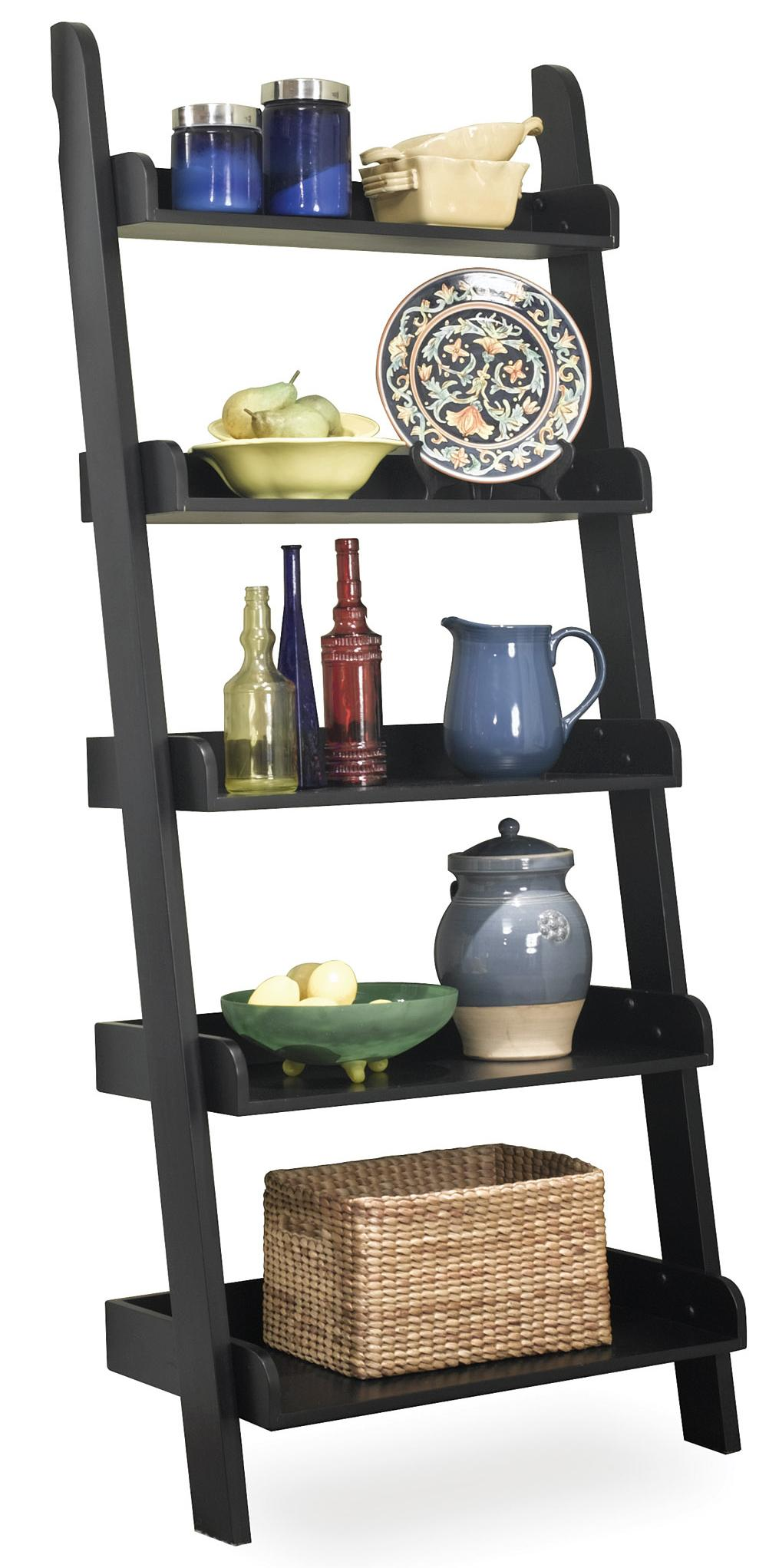 John Thomas Dining Essentials Leaning Ladder Shelf - Item Number: SH67-2660