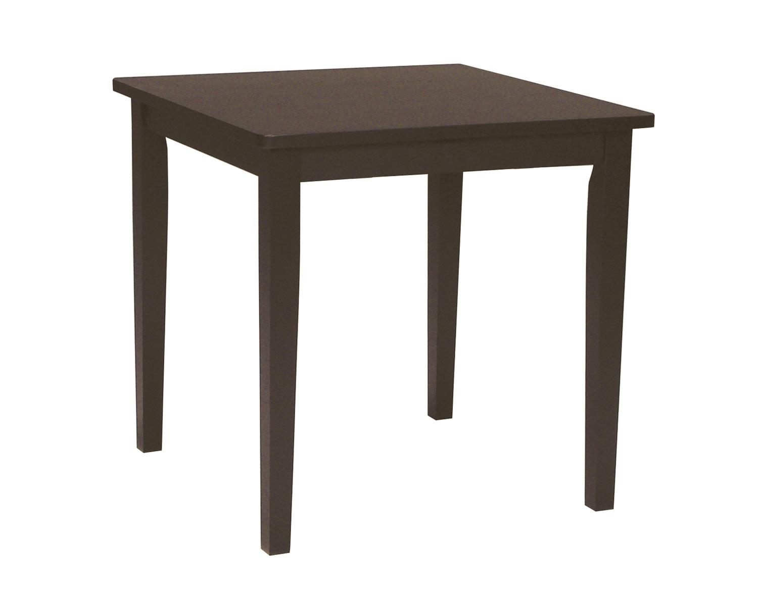 John Thomas Dining Essentials Casual Square Table - Item Number: T15-3030